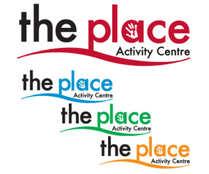 the place nottingham website & logo design