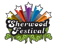 nottingham sherwood festival logo design