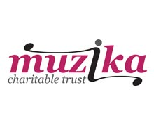 nottingham charity muzika logo design