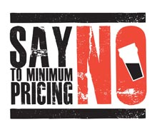 say no campaign logo design